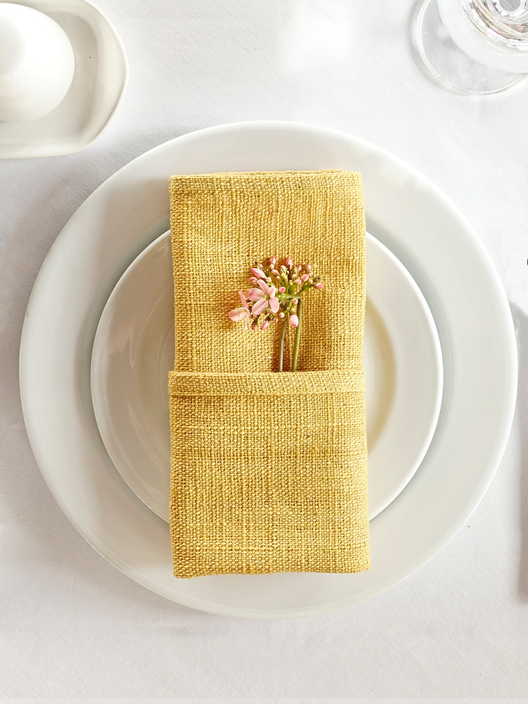Hand-woven Placemat_Jackfruit Yellow